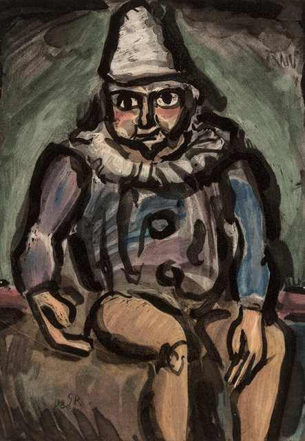 Georges Rouault, 'Le Vieux Clown, from Cirque', 1930, Print, Aquatint in colors on paper, Heritage Auctions