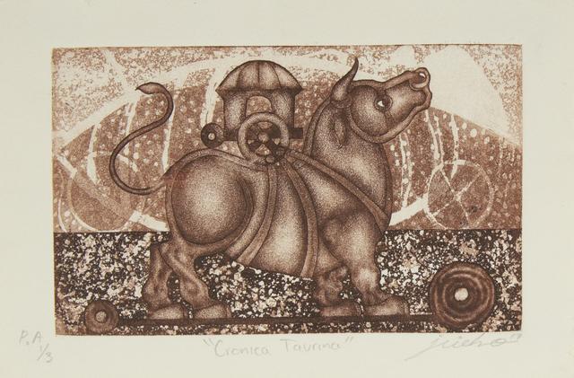 Isidro Fabián, 'Crónica taurina', Bernardini Art Gallery & Auction House