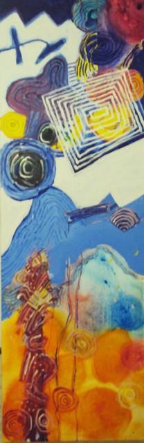 , 'A pintura e as células,' 2009, Referência Galeria de Arte