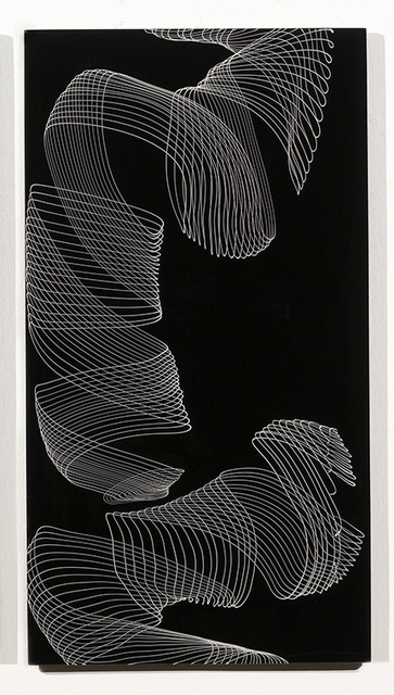 , 'Black Calligraphy,' 2018, Duane Reed Gallery
