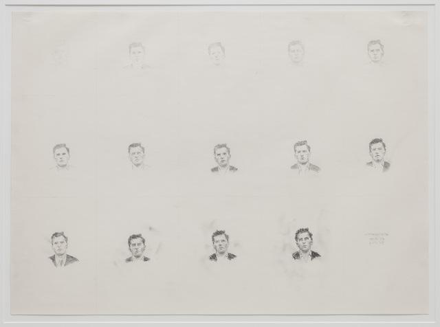 , 'Wittgenstein 7H to 7B,' 1967, P!