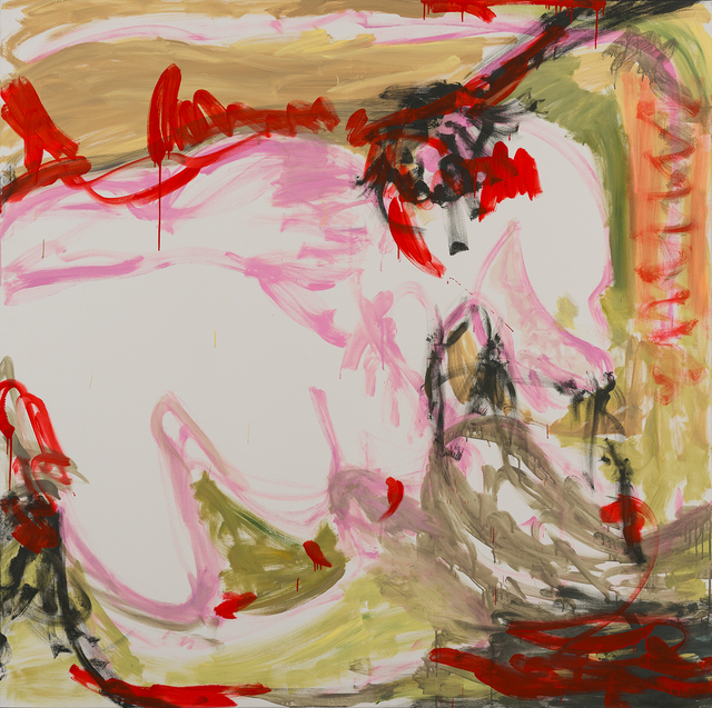 , 'St. Dragon, for a lover or a count, pink, red, green,' 2008, Charim Galerie