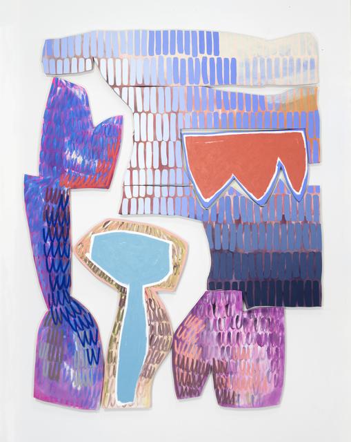 , 'Backdrop 3,' 2018, Denny Dimin Gallery