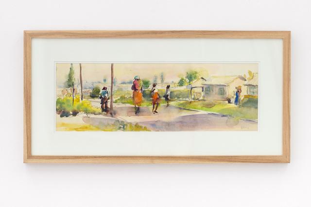 Durant Sihlali, 'Township scene (Kliptown)', 1981, Gallery MOMO