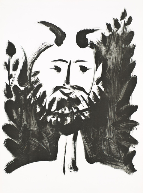 Pablo Picasso, 'Faune Souriant (Smiling Faun)', 1948, Christopher-Clark Fine Art