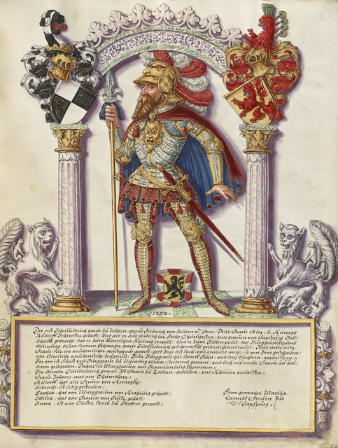 , 'Eitelfriedrich I Hohenzollern,' ca. 1572, J. Paul Getty Museum