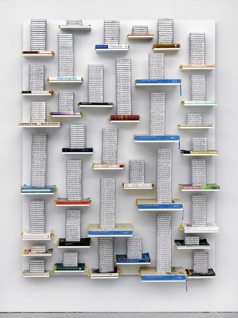 , 'Reliefs 3: 7 januari 2012 - 27 november 2014,' 2012-2014, Galerie Fons Welters