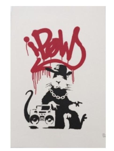 Banksy, 'Gangsta Rat', 2003, SmithDavidson Gallery