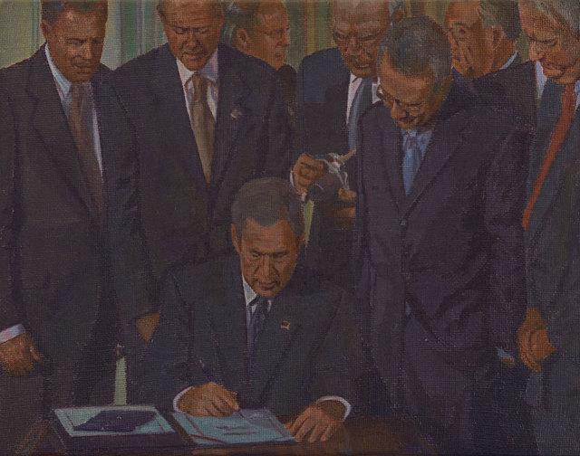 , 'Washington D.C., 26 de octubre de 2001,' 2016, Galería Lucia de la Puente