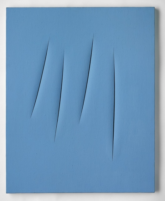 , 'Concetto Spaziale, Attese,' 1967, Ben Brown Fine Arts