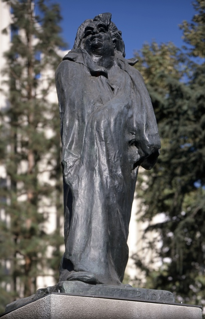 Auguste Rodin, 'Monument to Honore de Balzac', first modeled 1897; this cast 1967, Sculpture, Bronze, Los Angeles County Museum of Art