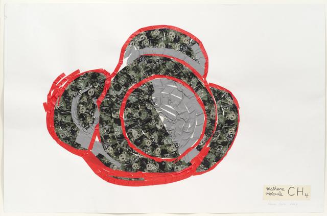 , 'Methane Molecule I (gray),' 2013, Fleisher/Ollman