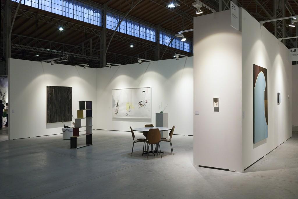 Exhibition view, viennacontemporary, Vienna, 2015 (photo: Markus Wörgötter)