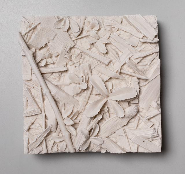, 'Patch of Grass, Wood Chips,' 2019, Mindy Solomon Gallery
