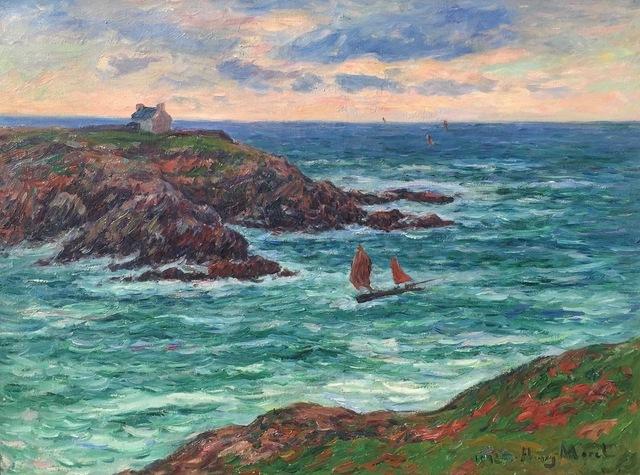 , 'Marine Douëlan, Bretagne ,' 1902, Anderson Galleries