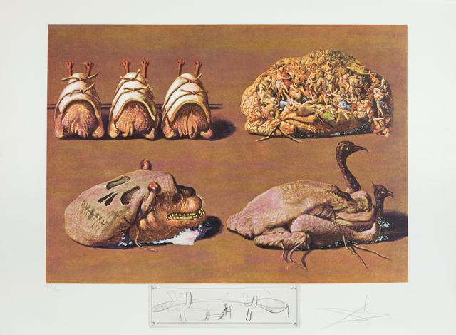 Salvador Dalí, 'Princely Plier Caprices', 1971, Heather James Gallery Auction