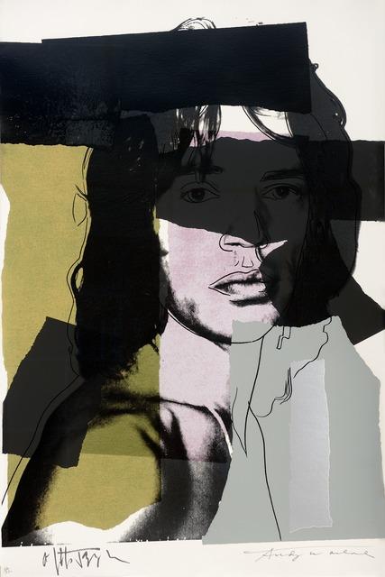 , 'Mick Jagger,' 1975, Galeries Bartoux Singapore