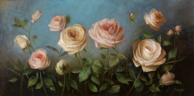 "Patt Baldino, '""Beautiful Roses""', 2019, The Galleries at Salmagundi"