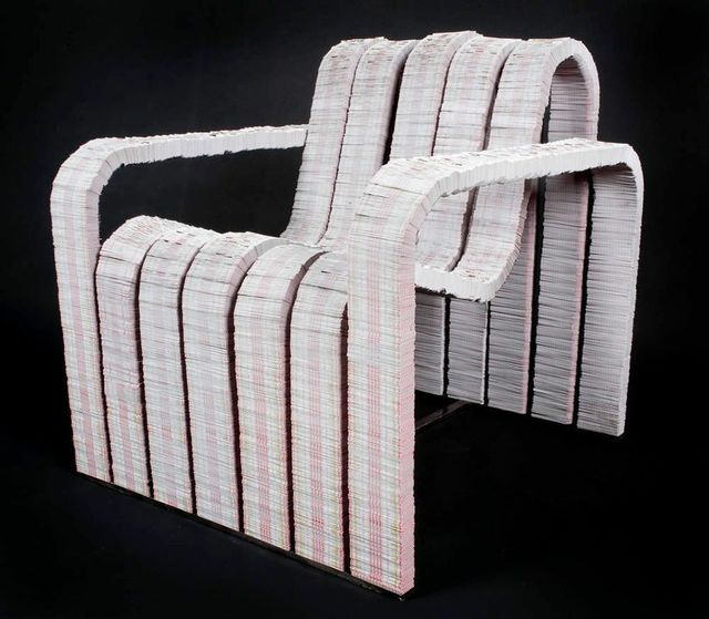 , 'Deuces Wild Chair,' 2010, Industry Gallery