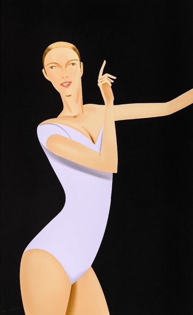 Alex Katz, 'Dancer 1', 2019, Frank Fluegel Gallery