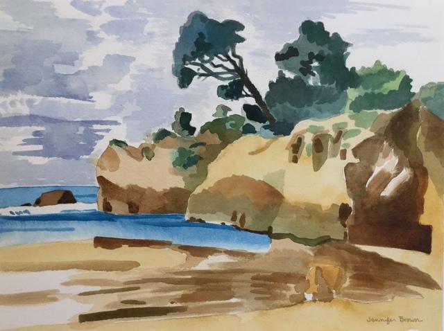 , 'Leaning Tree,' 2018, Matt Brown Fine Art