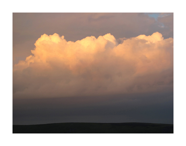 , 'Palmers Cloud, looking south to Hamel Down ,' Winter 2014, HackelBury Fine Art