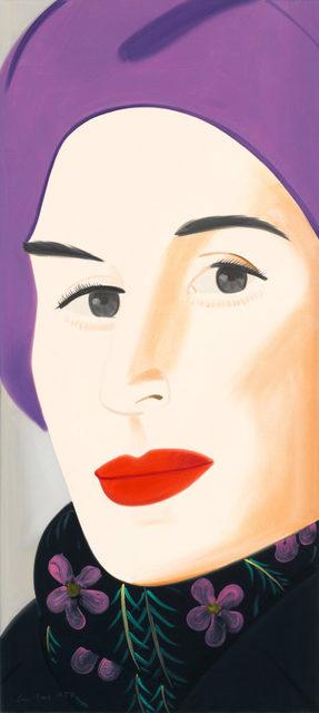 Alex Katz, 'Purple Hat (Ada)', 2017, Pop Fine Art
