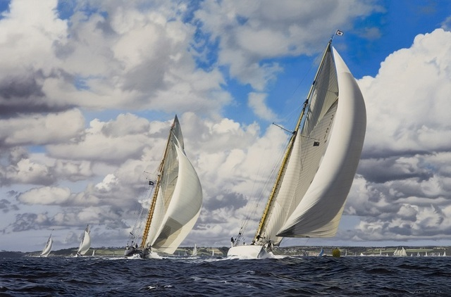 , 'Pendennis Cup,' , Beside the Wave