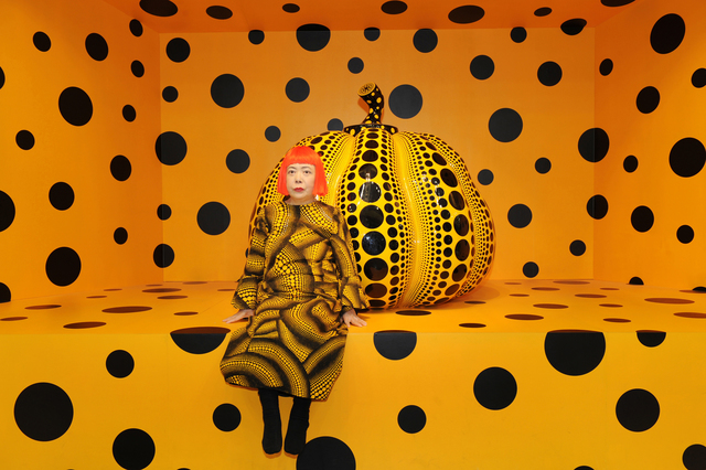 , 'Kusama with Pumpkin, 2010,' 2010, Louisiana Museum of Modern Art