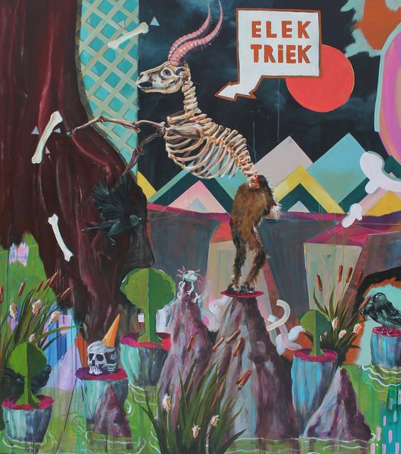 , 'Elek Triek,' 2018, Nathalia Tsala Gallery