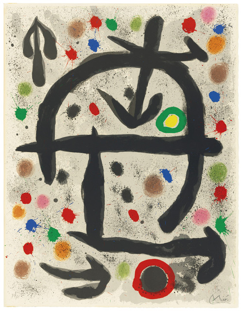 Joan Miró, 'Plate V, from: The Perseides', 1970, Christie's