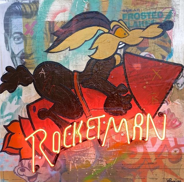 , 'Rocketman,' 2017, Galerie LeRoyer