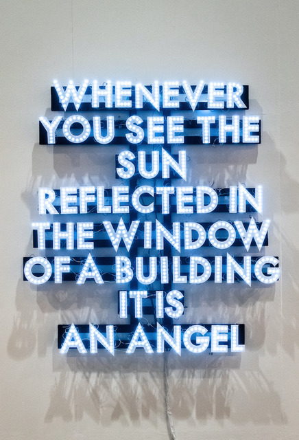 Robert Montgomery, 'Whenever You See The Sun', 2009, JD Malat Gallery