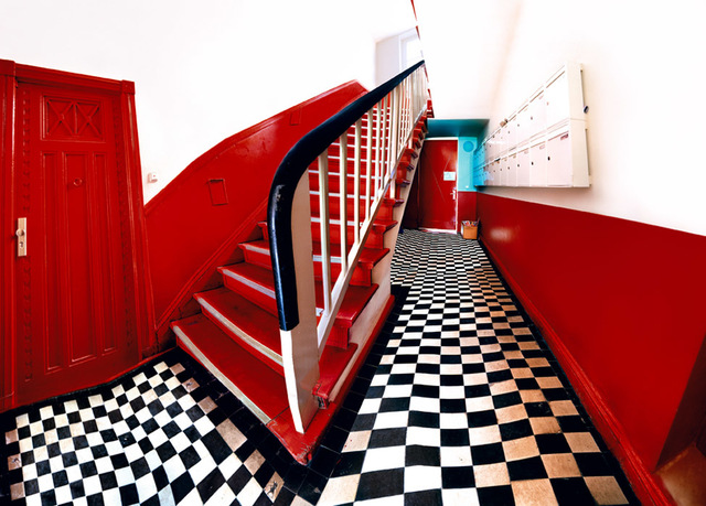 , 'Red Stairs,' 2005, Sebastian Fath Contemporary