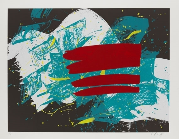 Kazuo Shiraga, 'Red Flag', 1993, Upsilon Gallery