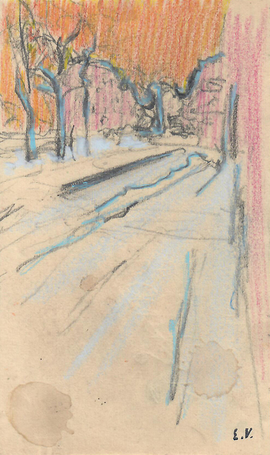 , 'Vue de rue,' ca. 1908, Jill Newhouse Gallery