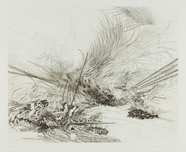 Julie Mehretu, 'Untitled', 2006, Print, Etching, engraving and drypoint in colors, on Somerset paper, with full margins., Phillips
