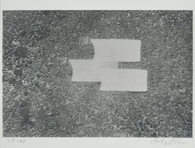 , 'Trifoglietto sull'asfalto,' 1967, Galleria il Ponte