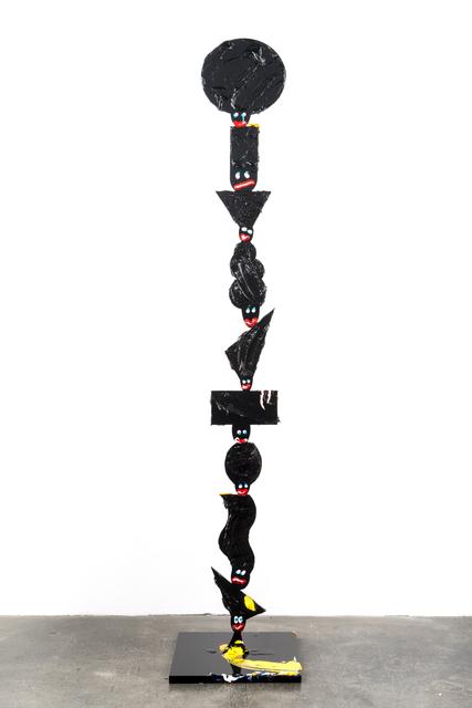 , 'head stacks on stacks,' 2015, Ruttkowski;68