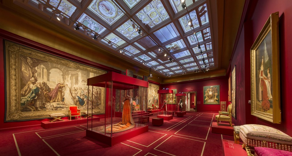 View of the exhibition Napoleon: Art and Court Life in the Imperial Palace (Feb. 3 – May 6, 2018). Montreal Museum of Fine Arts. Photo: MMFA / Denis Farley