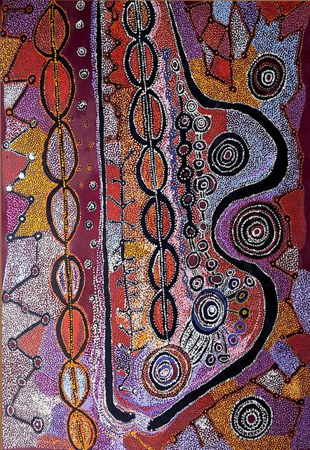 , 'Piltati, Wanampi Tjukurpa ,' 2016, OLSEN GALLERY