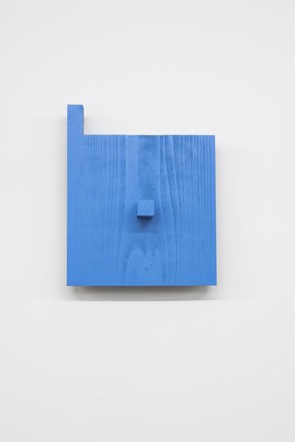 Kishio Suga 菅木志雄, '2つの指向性 - 水へ', 2000, Gallery 38