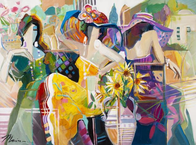 , 'Summer Time Café,' 2012, Blue Gallery