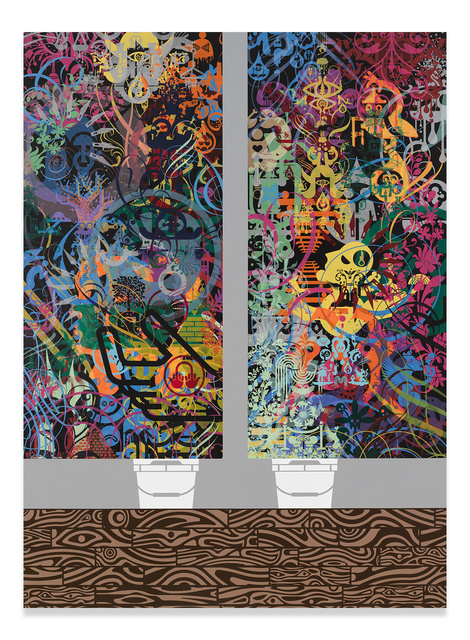 Ryan McGinness, 'Script Kitties', 2016, Miles McEnery Gallery