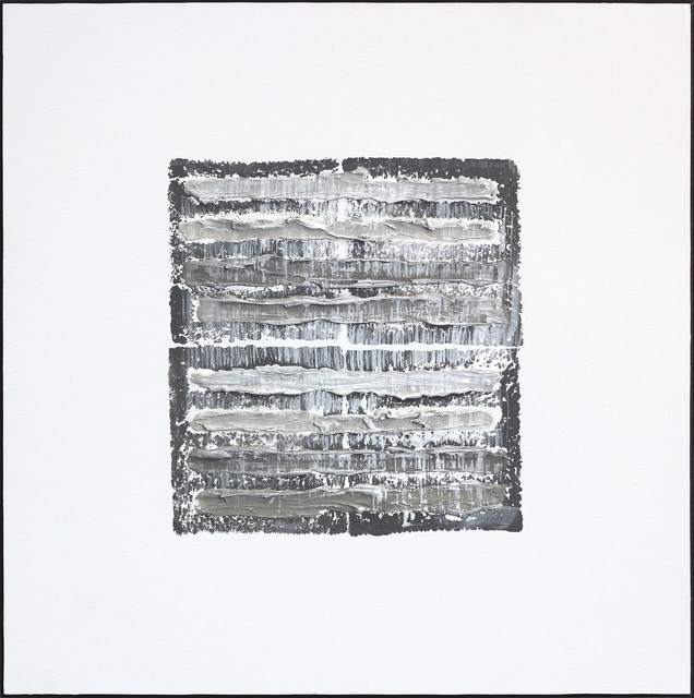 Len Klikunas, 'Gray Strata Pattern Berlin ', 2018, Artspace Warehouse