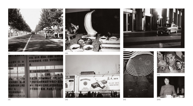 Andy Warhol, 'Eight works: (i) Street with Trees and Cart; (ii) Chinese Signage; (iii) Buffet Table; (iv) Billboards; (v) Street Scene; (vi) Coiled Incense; (vii) Billboard; (viii) Alfred Siu', 1982, Phillips