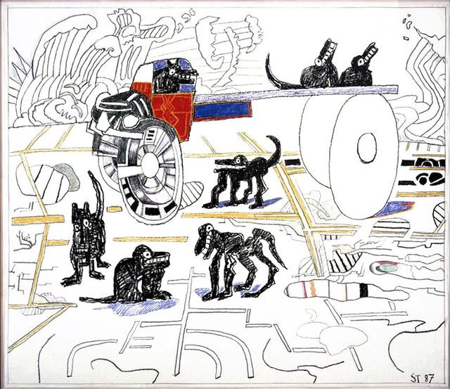 Saul Steinberg, 'Ocean Parking', 1987, DANESE/COREY