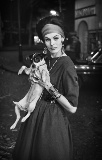 , '0081 Jacky with Adèle Chanel, Paris ,' 1961, Galerie Les filles du calvaire