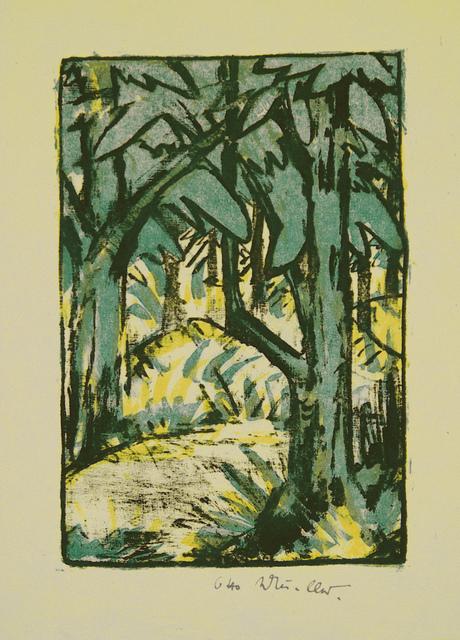 , 'Waldlandschaft,' ca. 1924, Henze & Ketterer