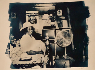 Floyd Tunson, 'Jessie Mae Hemphill', 1972-2011, Photography, Cyanotype, Michael Warren Contemporary
